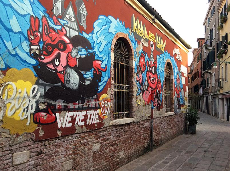 Street art Venise