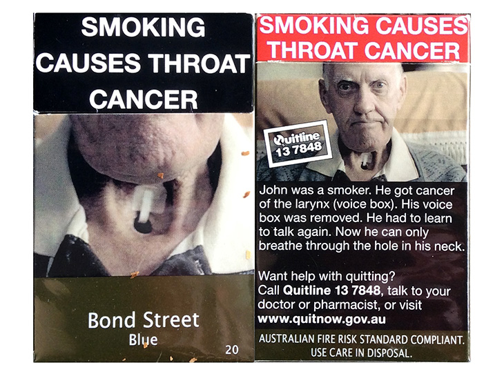 Australia smoking