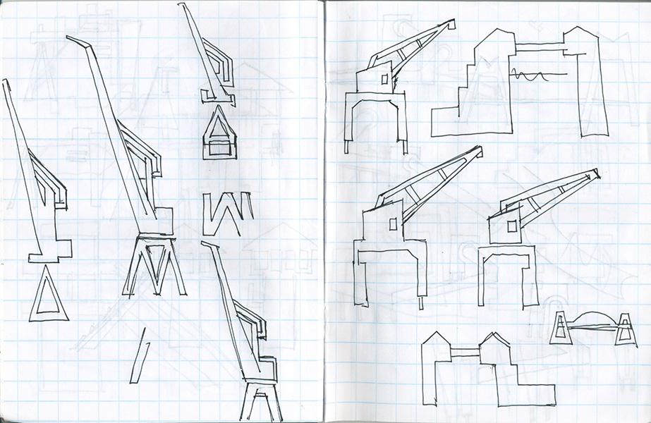 Cahier de notes pour Rotterdam